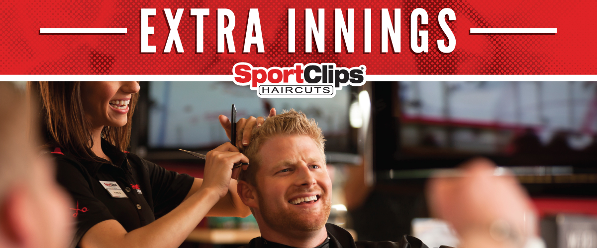 The Sport Clips Haircuts of Grand Prairie Extra Innings Offerings